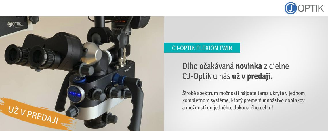 CJ-Optik Flexion Twin už v predaji